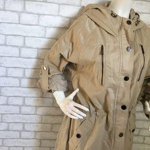 Mexx Jackets & Coats - NWT khaki lightweight hooded jacket/rain coat-12